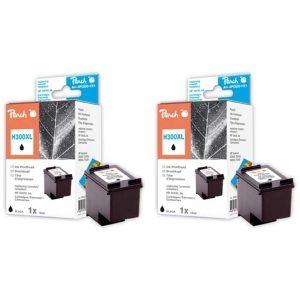 Peach  Doppelpack Druckköpfe schwarz kompatibel zu HP DeskJet F 4213 7640162272964