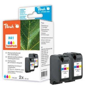 Peach  Doppelpack Druckköpfe color kompatibel zu HP DeskJet 820 CXI 7640162273084