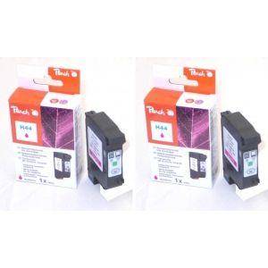 Peach  Doppelpack Druckköpfe magenta kompatibel zu HP DeskJet 755 7640162273251