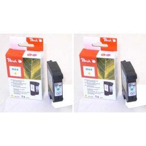 Peach  Doppelpack Druckköpfe gelb kompatibel zu HP DeskJet 755 7640162273268
